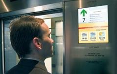 電梯轎內多媒體液晶顯示器