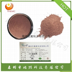 Dendritic silver copper clad powder