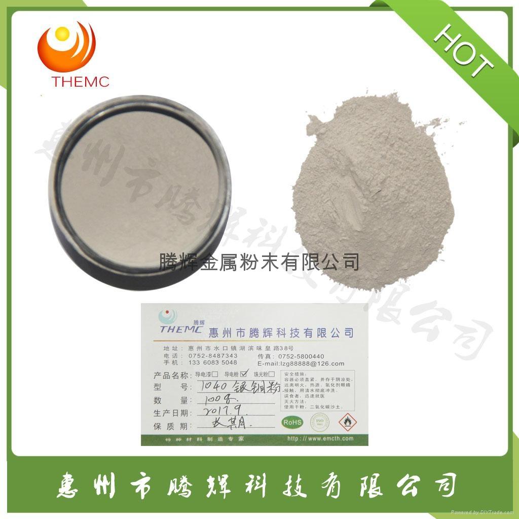 Dendritic silver copper clad powder 2