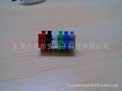 供应彩色DA500V-500接线端子