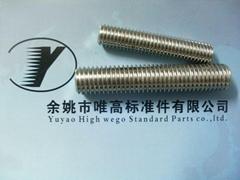 ASTM A193 B8/B8M全螺纹螺柱