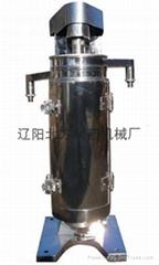 橡膠溶液提純過濾型管式分離機