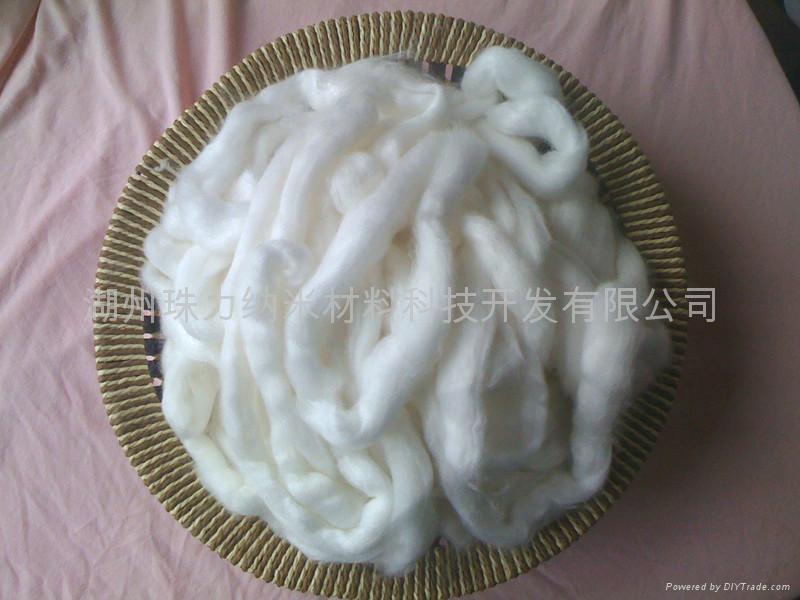 Milk protein fiber