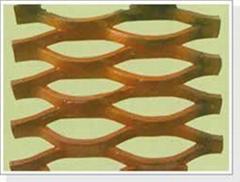 供应菱形钢板网拉伸网