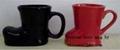 variety custom ceramic boot mugs with