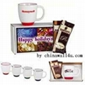 ceramic bistro mug,with your artwork &