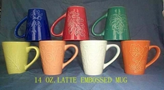 custom embossed coffee m