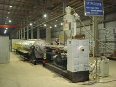 PE排水管生產線