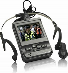 Police camcorder Cap Clip and Ear Hook security camera recorder 2.5 inch DVR