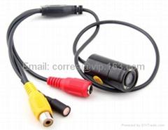 Mini Camera Night Vision 520TVL Day & Night Micro CMOS CCTV Camera with 8 IR LED