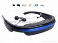 Portable VG280 HD 52-inch Eyewear Wide Screen Video Goggles Virtual Theatre 4GB 1