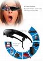 3D Video Glasses FPV Goggles 98 Inch