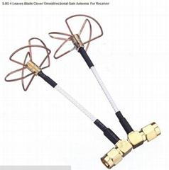 5.8G 4 Leaves FPV all directional high Gain wireless Antenna For fpv transmitter
