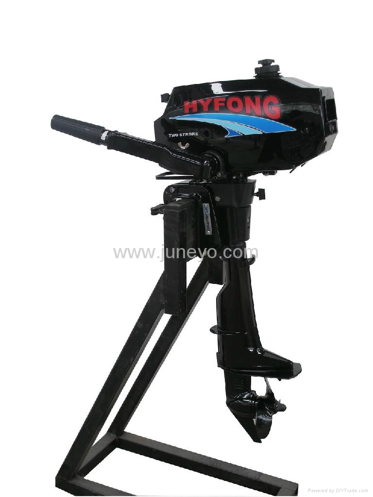 2 stroke outboard engine yamaha style t3 5hp for Yamaha boat engine dealers