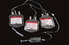 Triple blood bag  with CPDA1 or SAG-M