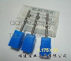 進口單刃螺旋銑刀--3.175-17/22A