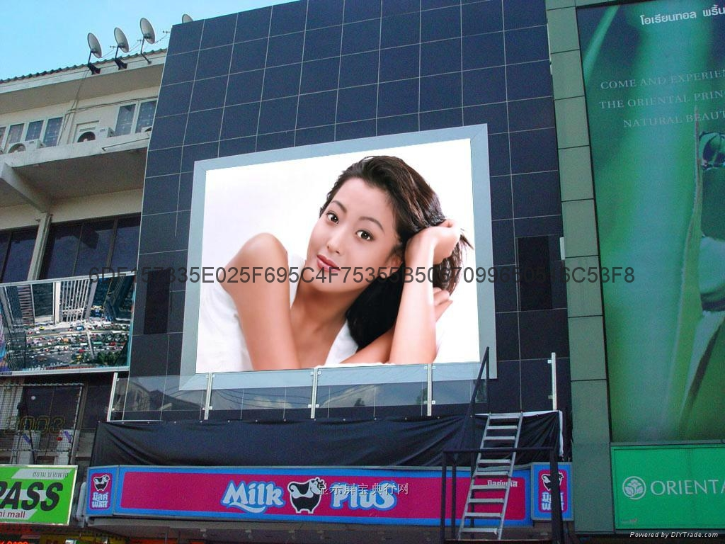 PH6 Outdoor Full Color LED Curtain Display For Stage