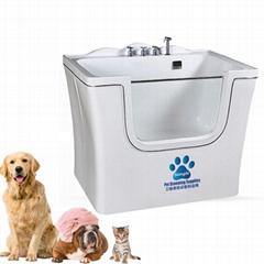 Acrylic Dog Spa Bubble Bathtub,Pet spa dog bathtubs