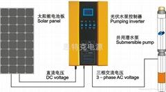 太阳能光伏自动泵水系统