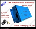 Real time surveillance device for car. 3g surveillance camera.