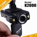 K2000高清夜视行车记录仪