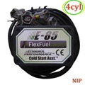 flex fuel conversionE85 kit 4CYL with Cold Start Asst. biofuel e85, ethanol car