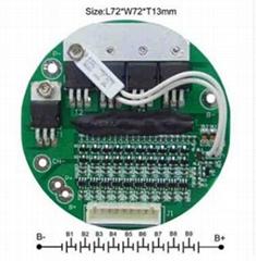 10串/20A電動自行車電池保護板/水壺款電池保護板