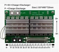 16节/60A动力型电池组保护板
