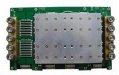 32S/100A大功率锂离子/聚合物/磷酸铁锂电池组保模块