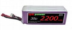 Uav model aircraft batteries /l aircraft batteries 22.2V 2200mah (Hot Product - 1*)