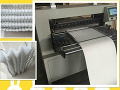 non-woven knife pleating