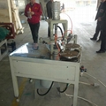 Automatic one component end cap dispensing machine for air filter