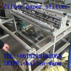 auto breaking system 1200mm Full auto filter paper slitter