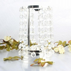 Wedding table centerpiece acrylic Crystal Table Candlestick Wedding Centerpiece