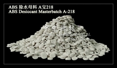 Desiccant Masterbatch for abs .