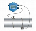 Ultrasonic Flow Transmitter Meter with battery power