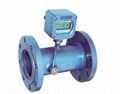 Ultrasonic Flow Transmitter Meter with battery power