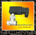 Flow Switch ( Adjustable Target Paddle Flow Sensor Similar as Sika Honsberg)