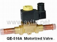 GE-516 Motorized Valve with Welding Connection