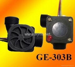 GE-303B Plastic Water Flow Rate Sensor Meter