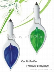 Car Air Purifiers Ionizer Oxygen Bar