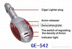 Car Oxygen Bar Air Purifiers Ionizer