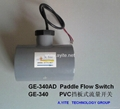 GE-340AD Plastic Paddle Flow Switches