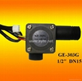 GE-303G Plastic Water Flow Rate Sensor Meter