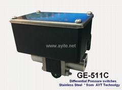 可调型不锈钢差压开关控制器
