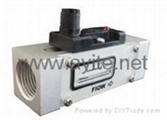 GE-343  Adjustable Piston Flow Switch with Indicator