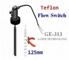 GE-313耐腐蝕塑料擋板式流量開關--PTFE特氟龍