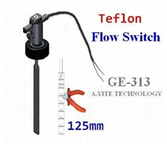 GE-313 Teflon Plastic Paddle Flow Switch