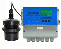 Level Meter GE-1203 Ultrasonic liquidometer level gauge (Separated Body)