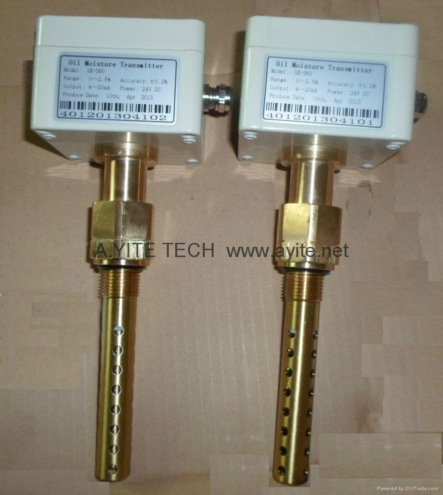 Water in Oil Sensor Switch / Moisture Transmitter Detector